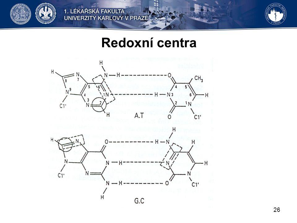 Redoxní centra