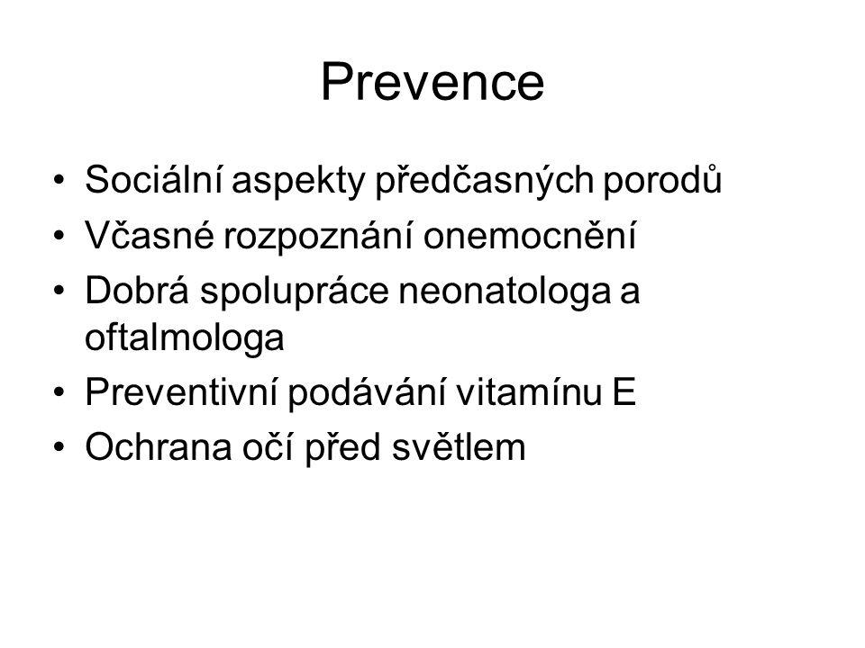 Prevence Sociální aspekty předčasných porodů