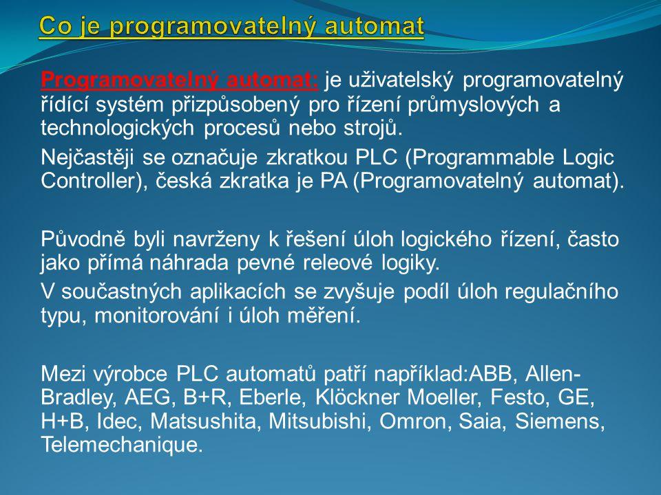Co je programovatelný automat
