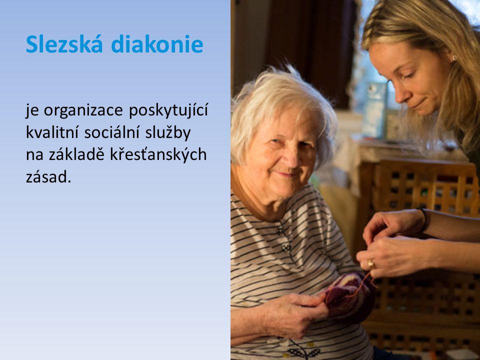 Slezská diakonie je organizace poskytující kvalitní sociální služby