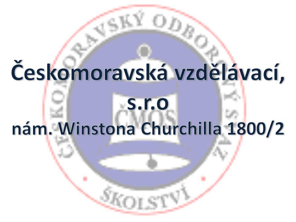 Českomoravská vzdělávací, s.r.o nám. Winstona Churchilla 1800/2
