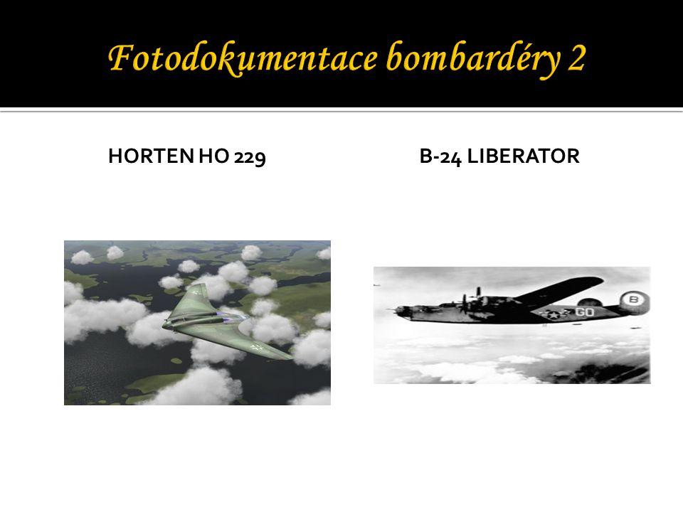 Fotodokumentace bombardéry 2
