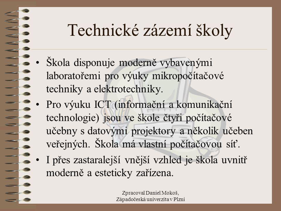Technické zázemí školy
