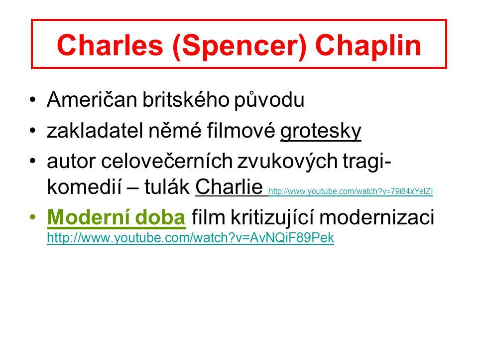 Charles (Spencer) Chaplin