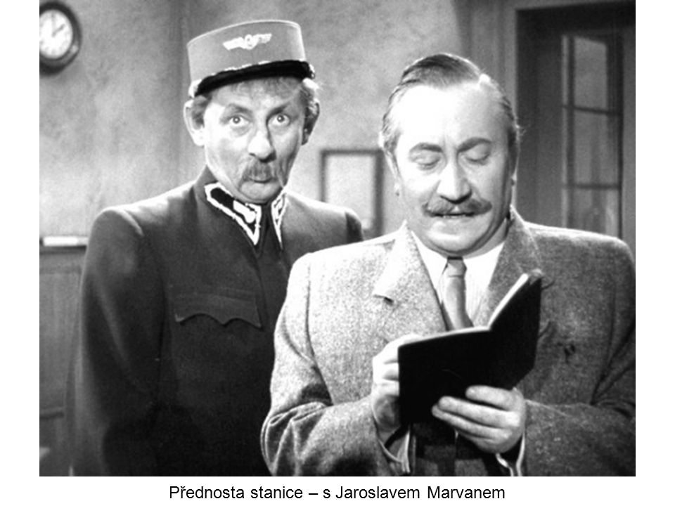 Přednosta stanice – s Jaroslavem Marvanem
