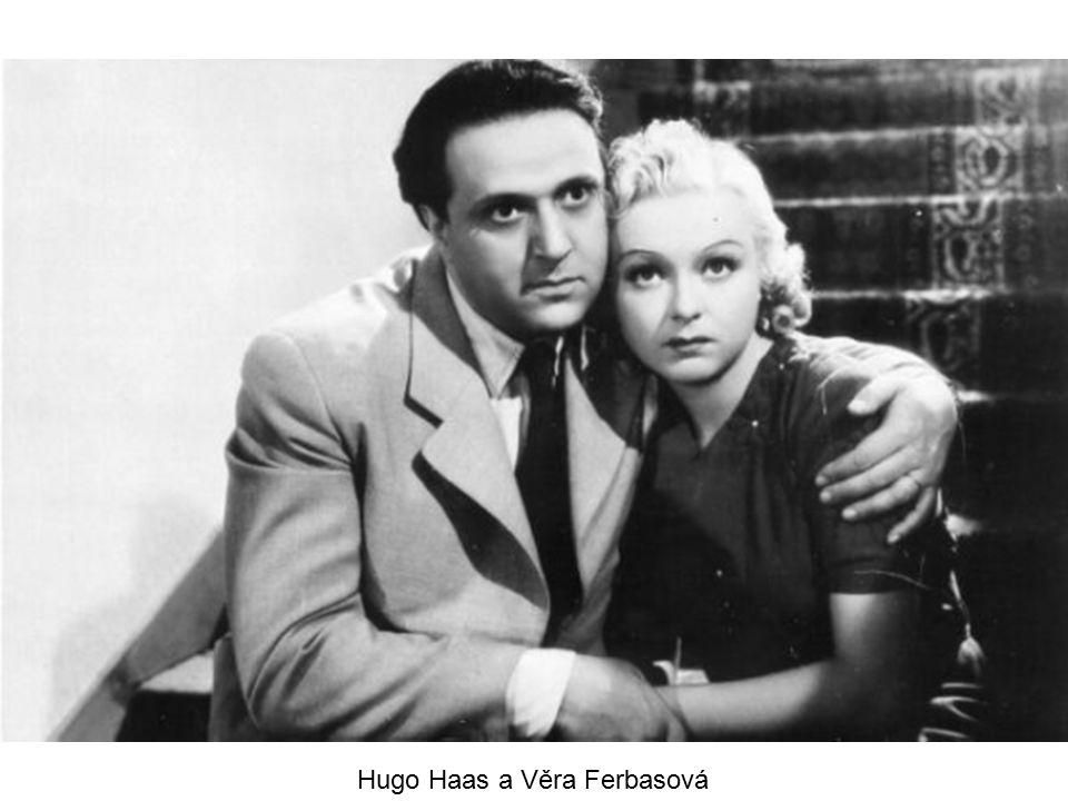 Hugo Haas a Věra Ferbasová