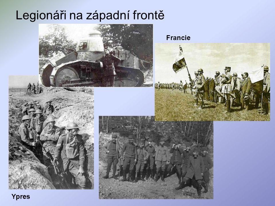 Legionáři na západní frontě