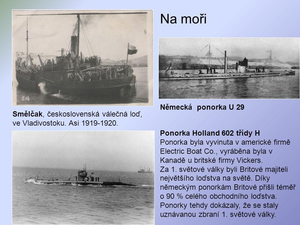 Na moři Německá ponorka U 29
