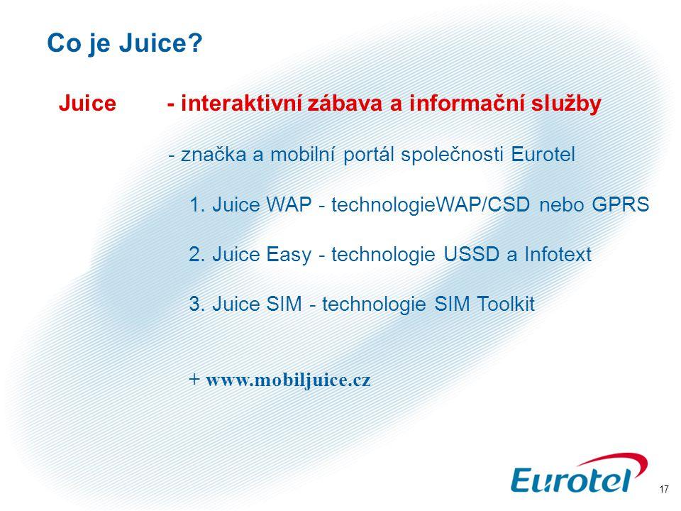Co je Juice Juice - interaktivní zábava a informační služby
