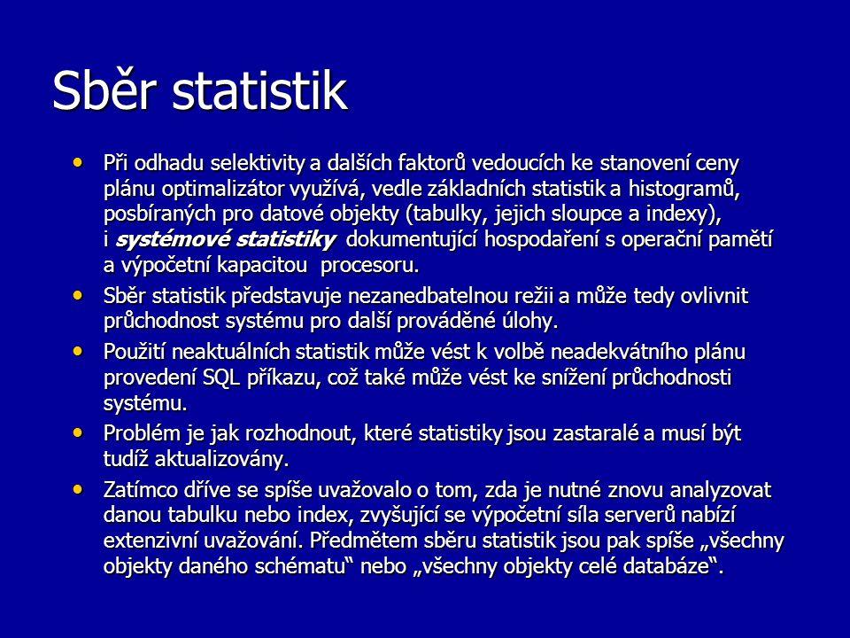 Sběr statistik