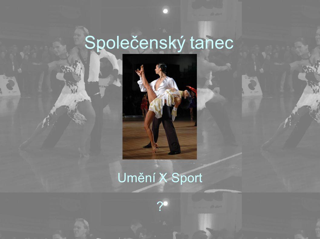 Společenský tanec Umění X Sport