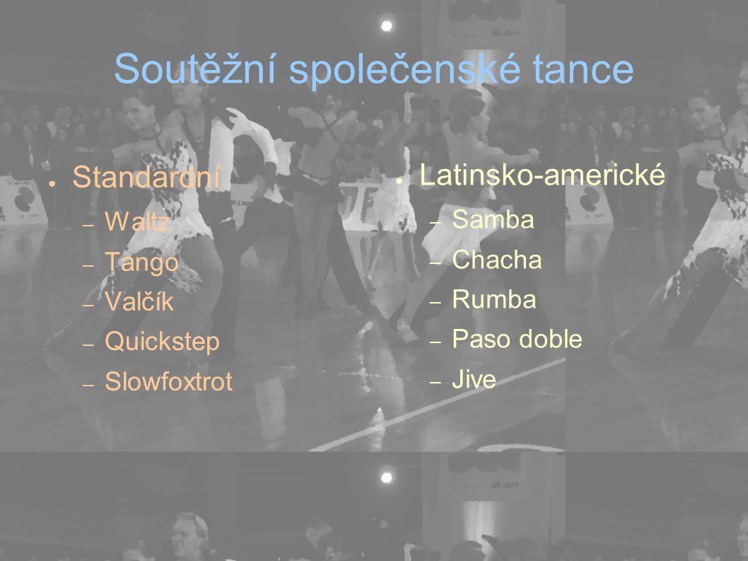 Soutěžní společenské tance