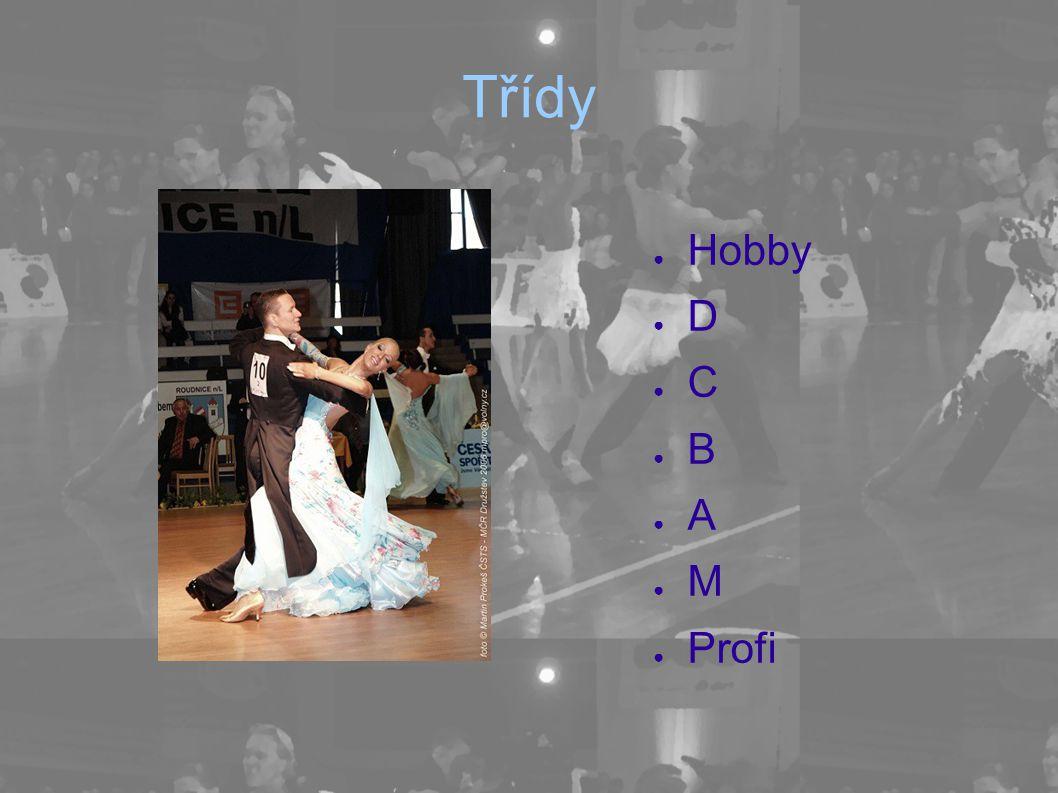 Třídy Hobby D C B A M Profi