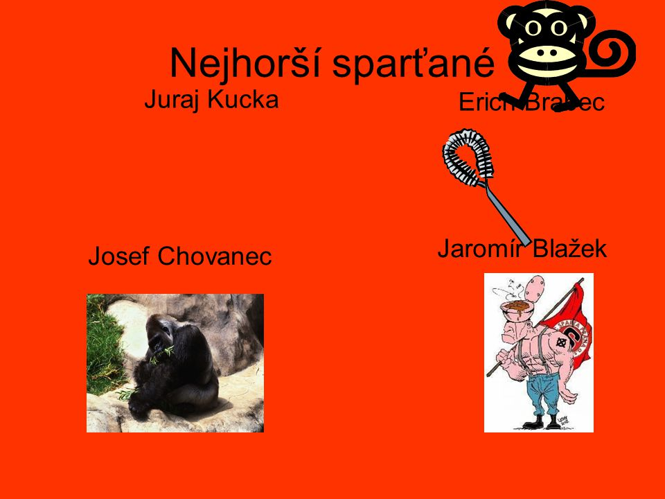 Nejhorší sparťané Juraj Kucka Erich Brabec Jaromír Blažek