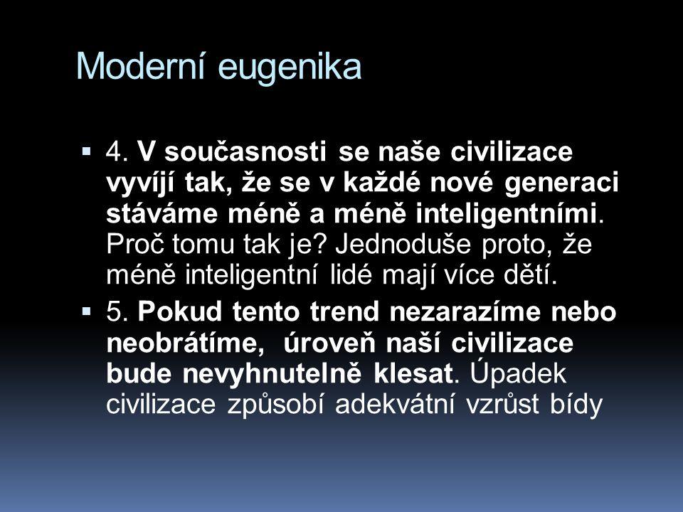Moderní eugenika
