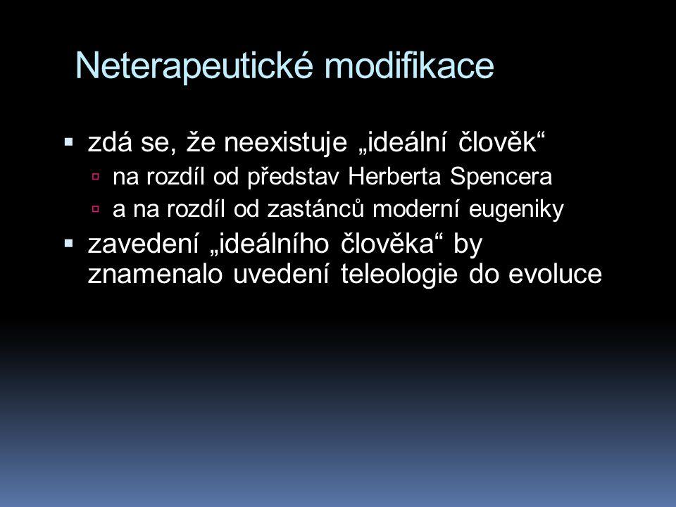 Neterapeutické modifikace