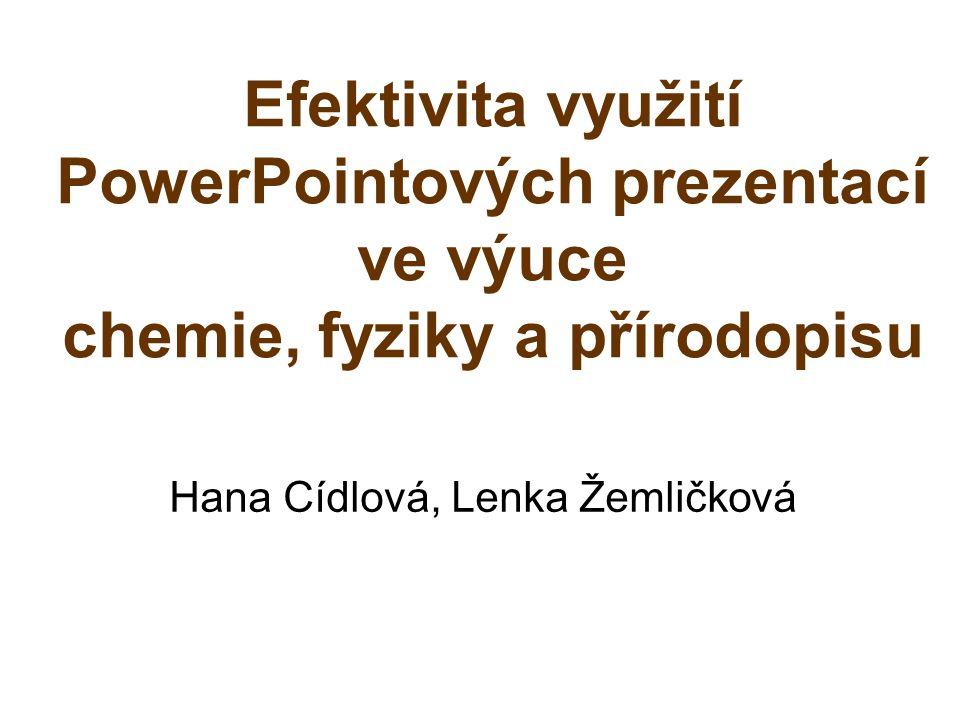 Hana Cídlová, Lenka Žemličková