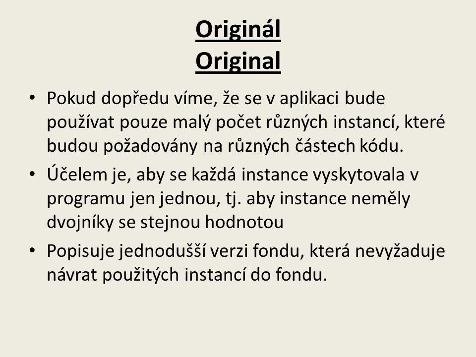 Originál Original