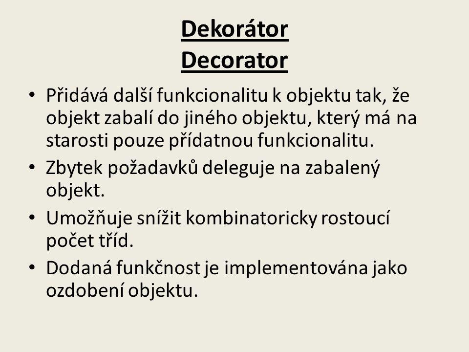 Dekorátor Decorator