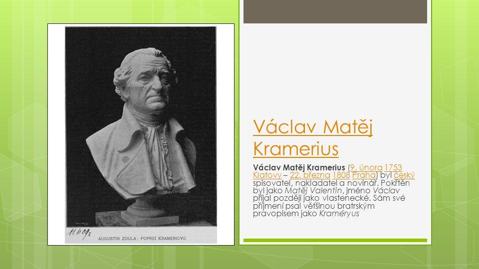 Václav Matěj Kramerius