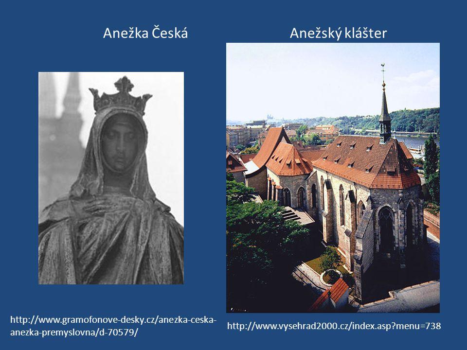 Anežka Česká Anežský klášter