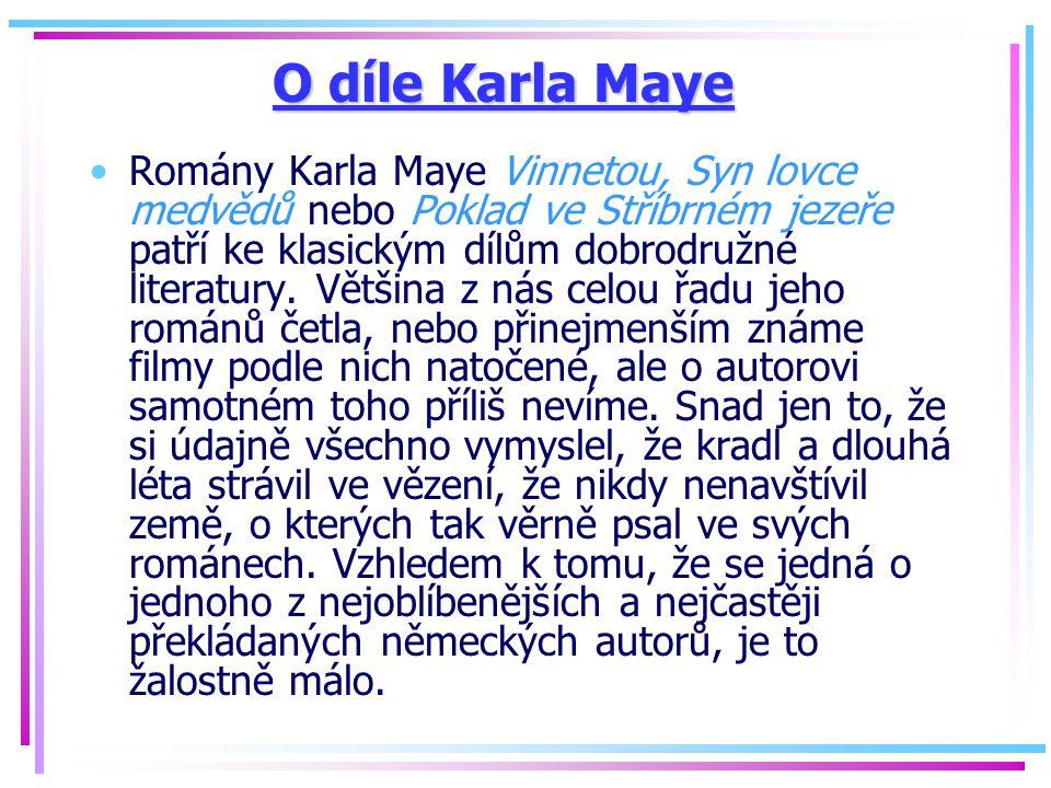 O díle Karla Maye