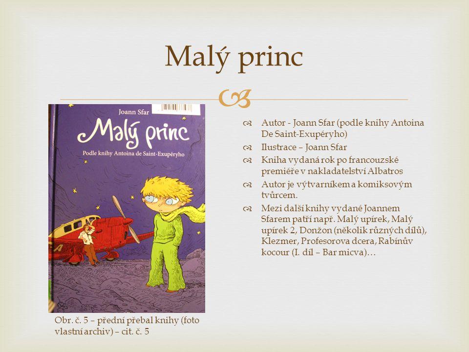 Malý princ Autor - Joann Sfar (podle knihy Antoina De Saint-Exupéryho)