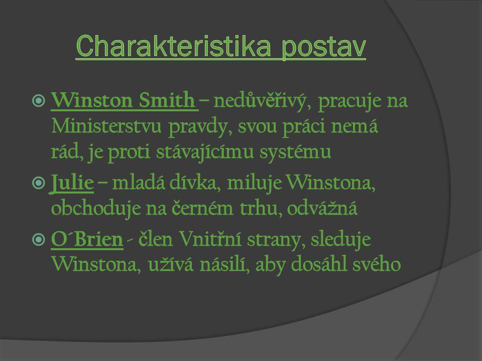 Charakteristika postav
