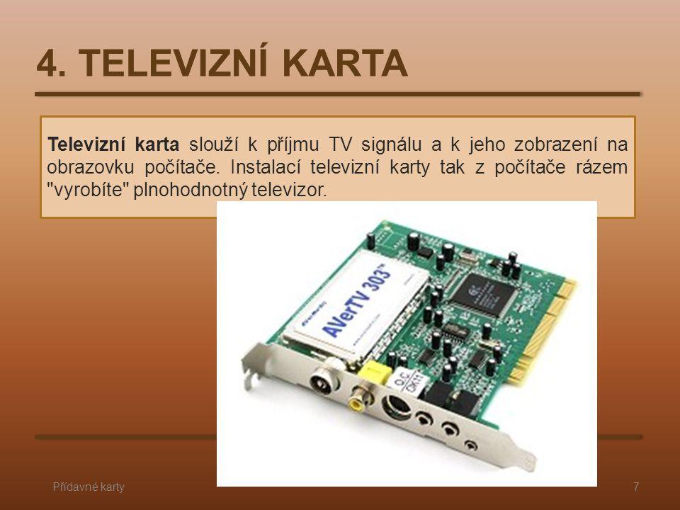 4. TELEVIZNÍ KARTA