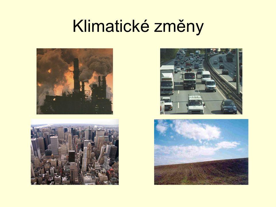 Klimatické změny
