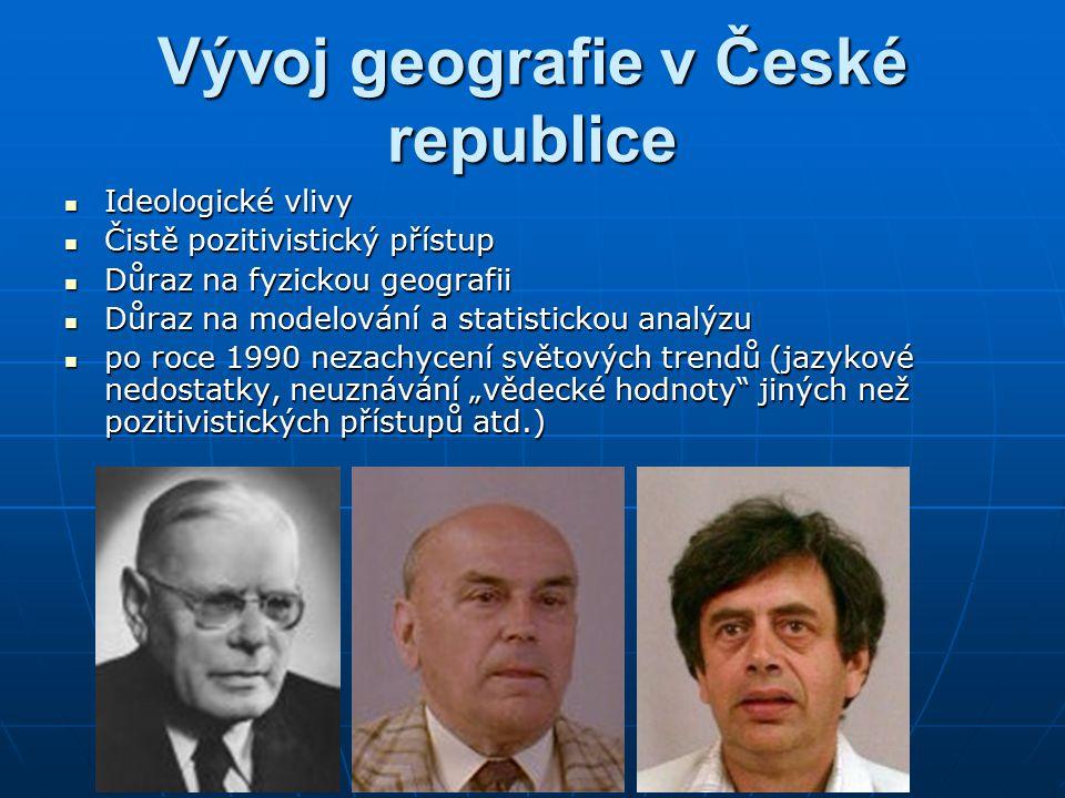 Vývoj geografie v České republice