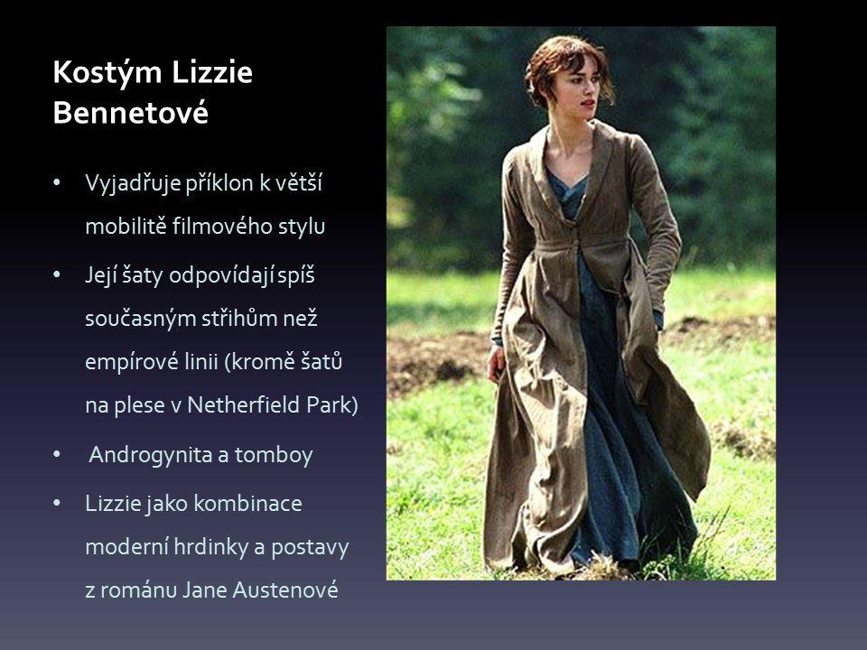 Kostým Lizzie Bennetové