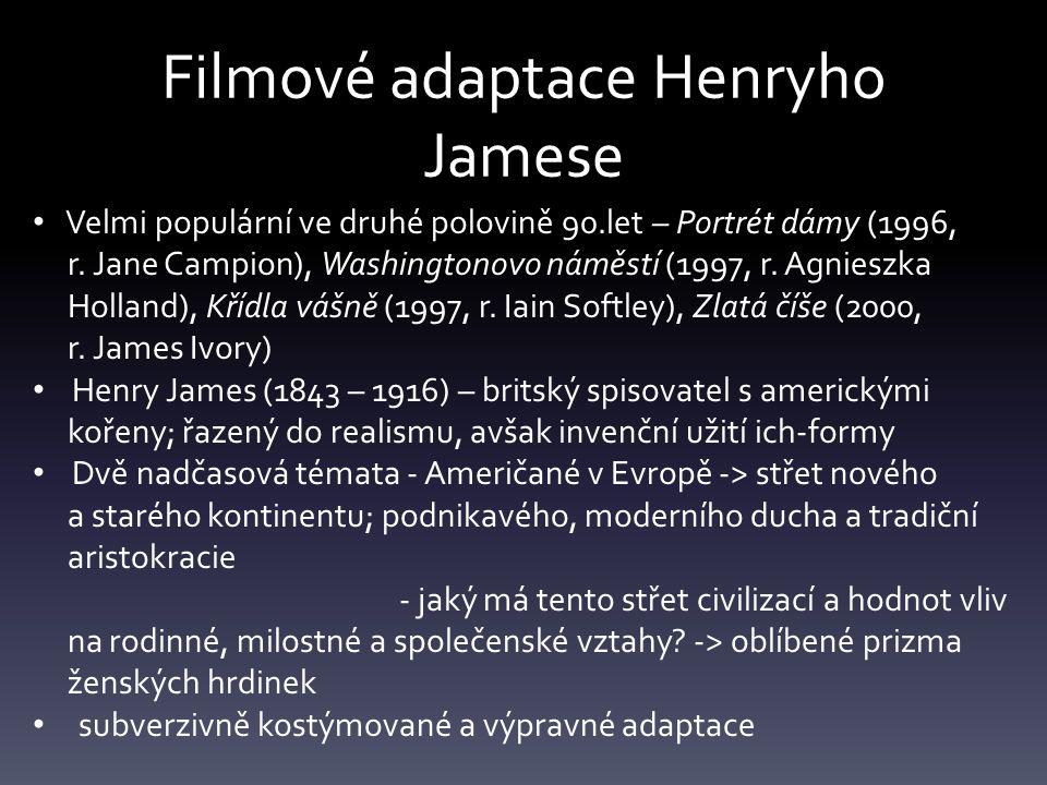Filmové adaptace Henryho Jamese