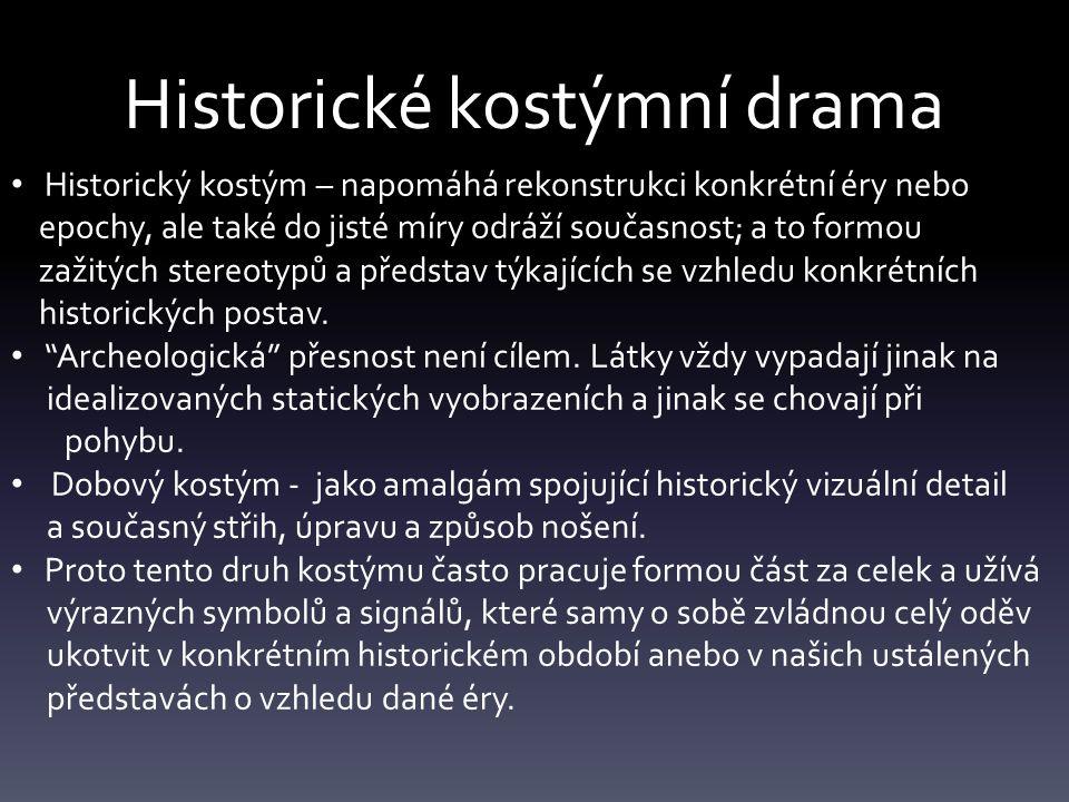 Historické kostýmní drama