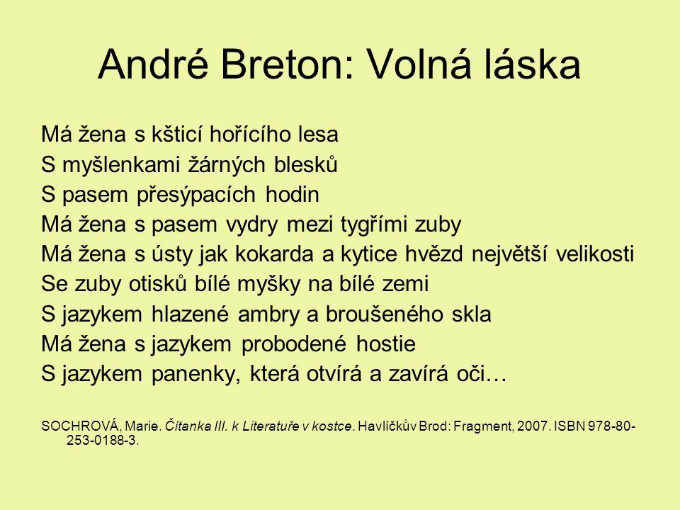 André Breton: Volná láska