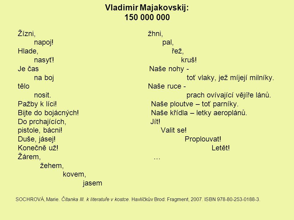 Vladimir Majakovskij: 150 000 000