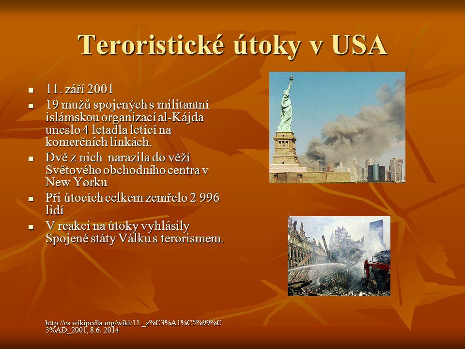 Teroristické útoky v USA