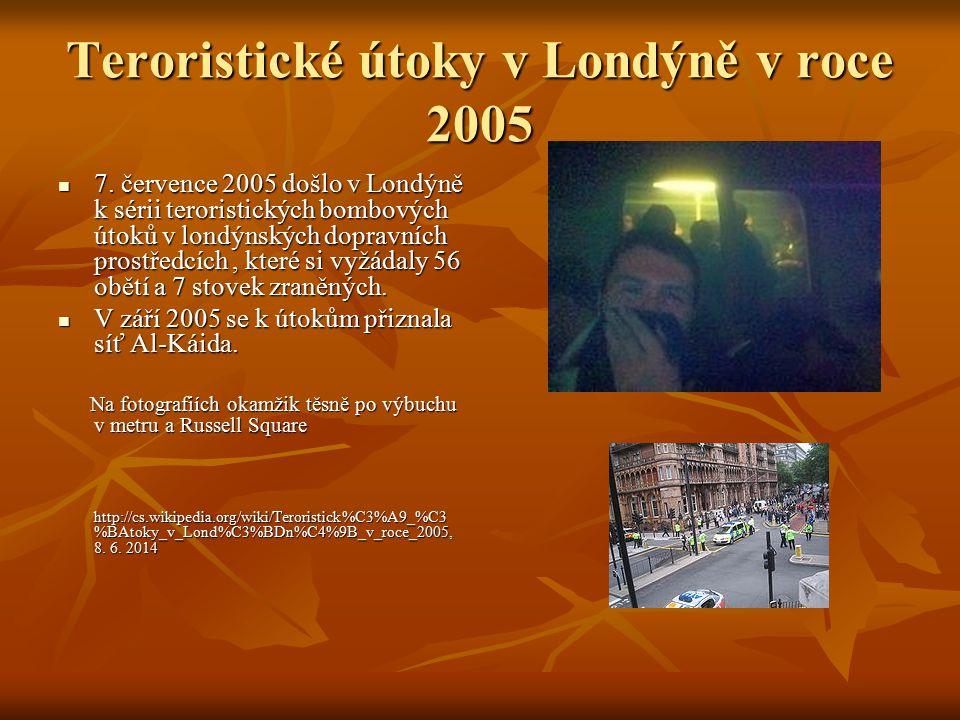 Teroristické útoky v Londýně v roce 2005