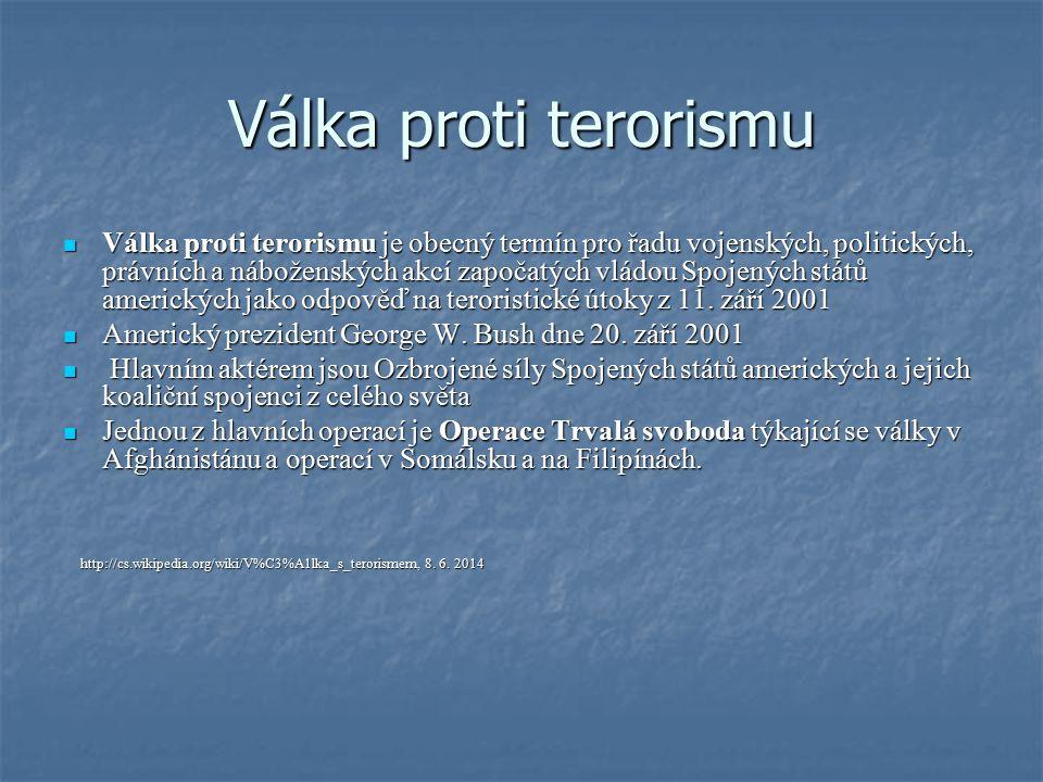 Válka proti terorismu
