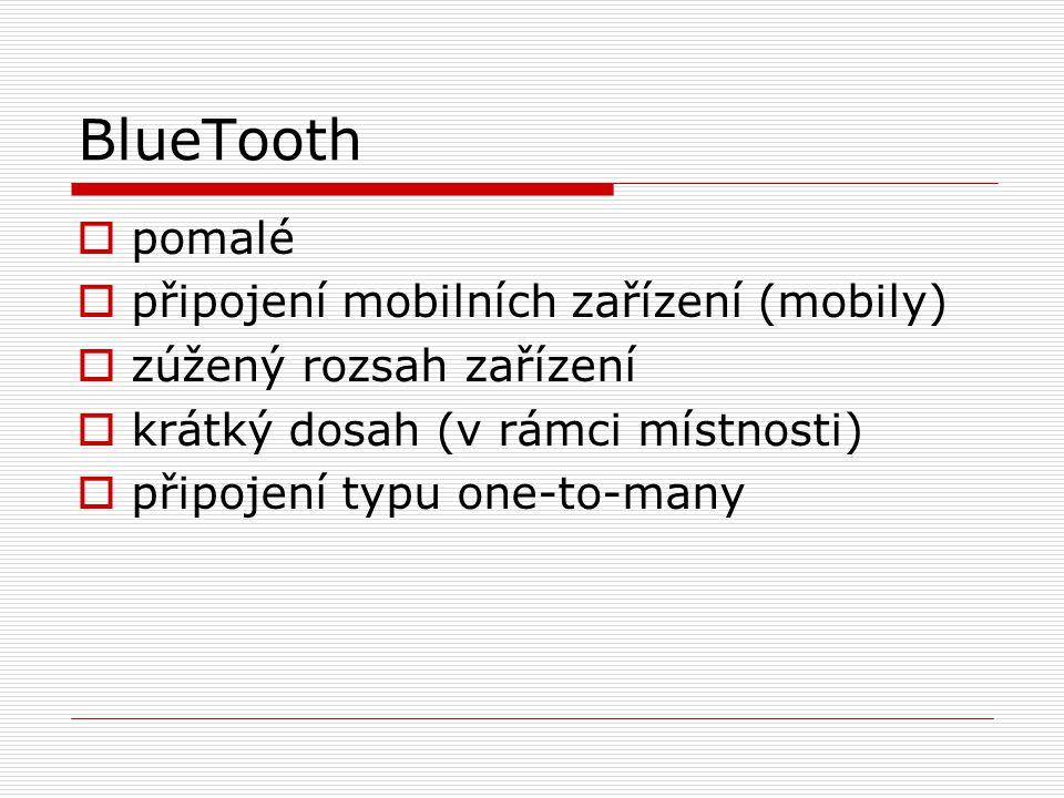 BlueTooth pomalé připojení mobilních zařízení (mobily)