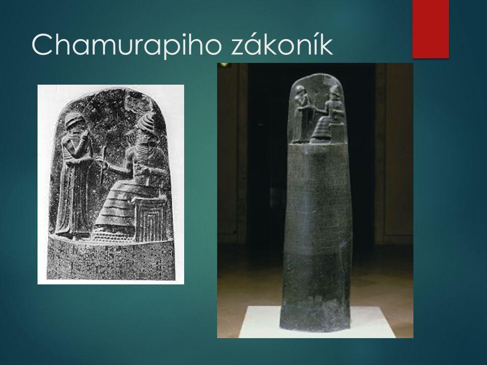 Chamurapiho zákoník