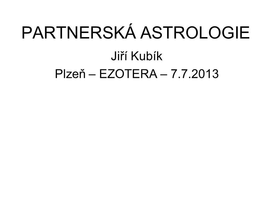 PARTNERSKÁ ASTROLOGIE