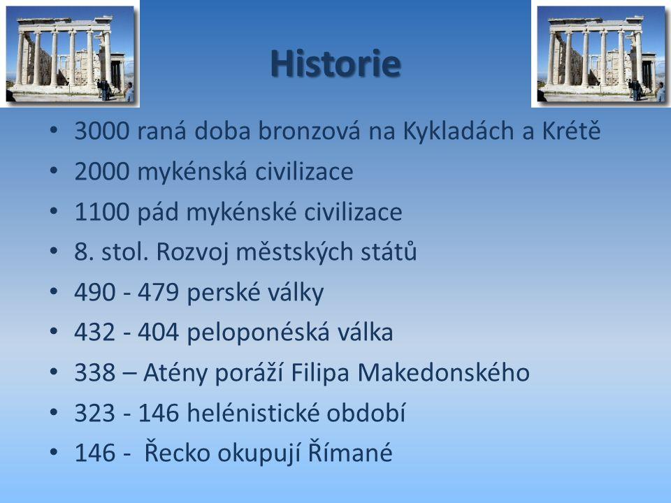 Historie 3000 raná doba bronzová na Kykladách a Krétě