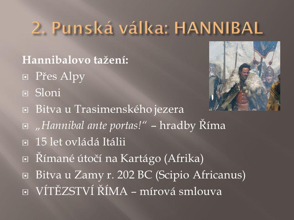 2. Punská válka: HANNIBAL