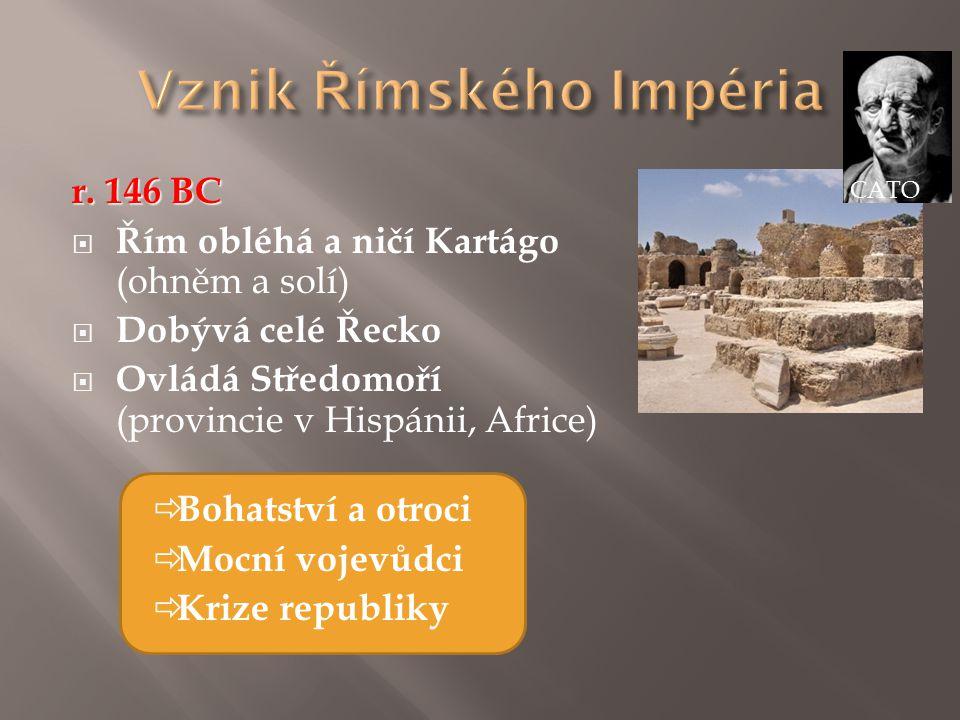 Vznik Římského Impéria