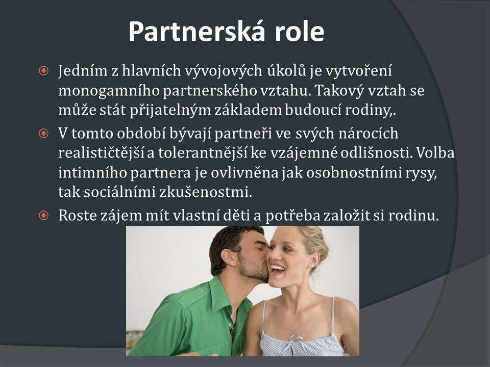 Partnerská role