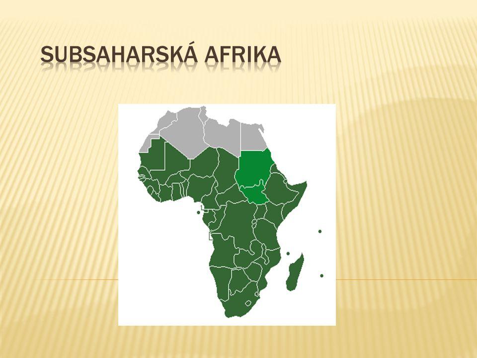 Subsaharská Afrika