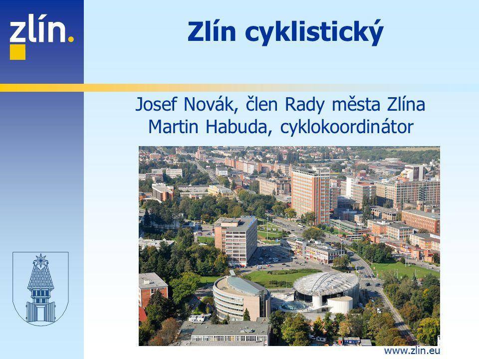 Zlín cyklistický Josef Novák, člen Rady města Zlína