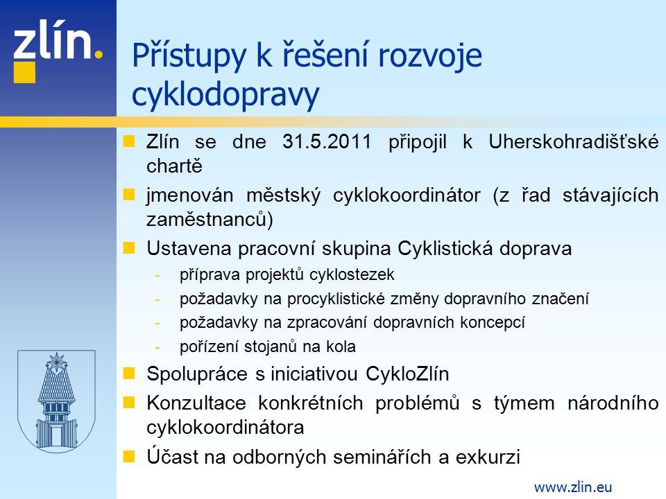 Přístupy k řešení rozvoje cyklodopravy