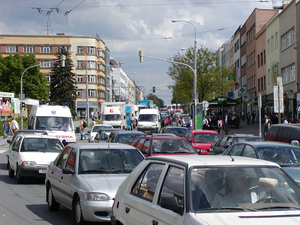 Situace cyklodopravy ve Zlíně